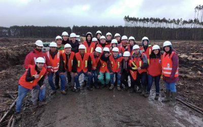Noticia, Salida a Terreno de estudiantes de la especialidad Técnico Forestal a la Hacienda Ñuble Rupanco