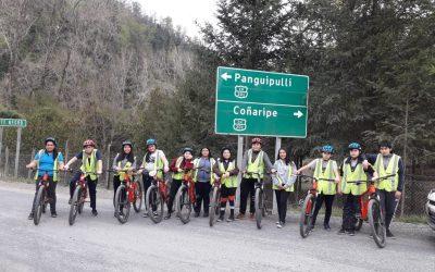 Entrenamientos y paseos en bicicleta para los alumnos