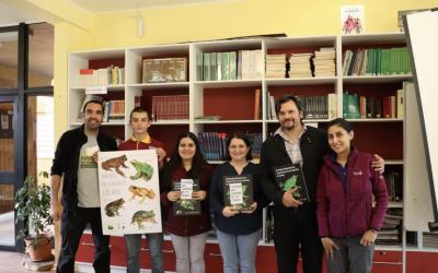 Visita de la ONG Ranita de Darwin