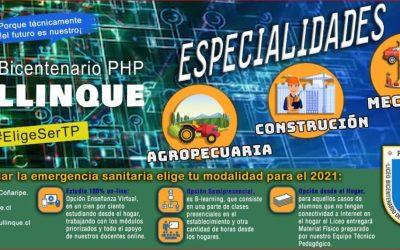 Liceo Pullinque planifica 2021 ante nueva realidad